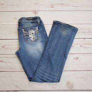 Vigoss Jeans Heritage Fit Size 8/32 Slim Bootcut